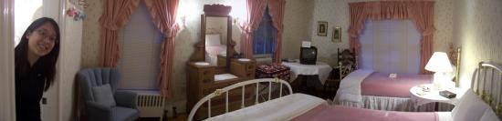 Amelia Payson House: Our room!