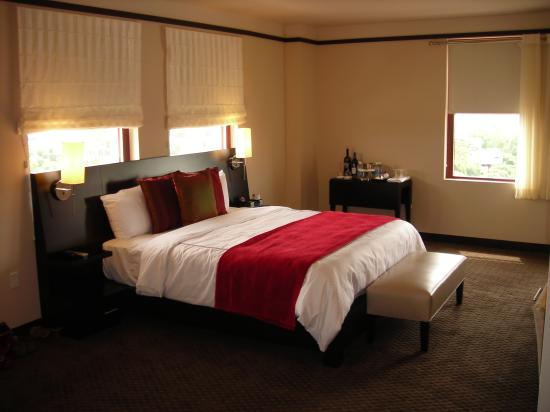 Bedroom w/ custom furniture - Picture of Colcord Hotel, Oklahoma ...