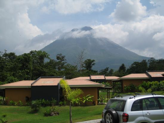 Arenal Manoa Hotel: View from the room