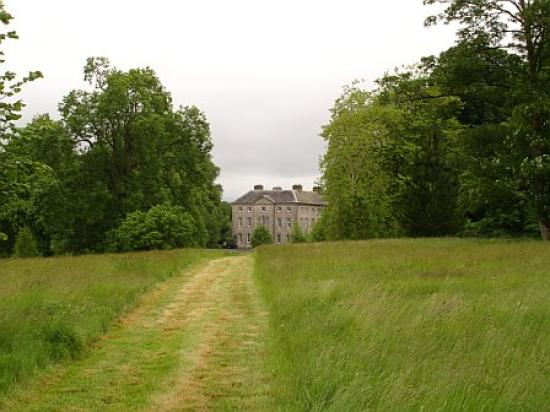 Roundwood House: view