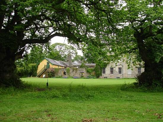 Roundwood House: view of the B&B