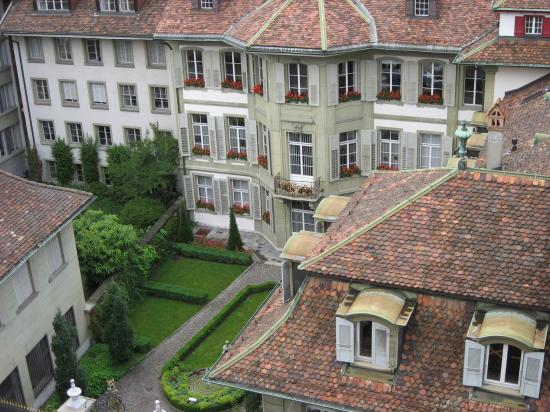 BELLEVUE PALACE Bern : View from room (city view)