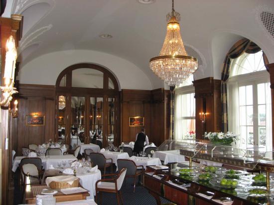 BELLEVUE PALACE Bern : Restaurant