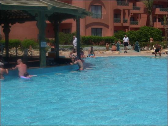 Parrotel Aqua Park: Swim up bar