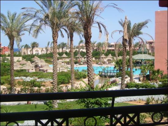Parrotel Aqua Park: View from balcony