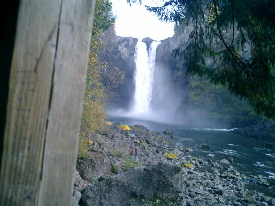 Snoqualmie Falls: Normal Water Level