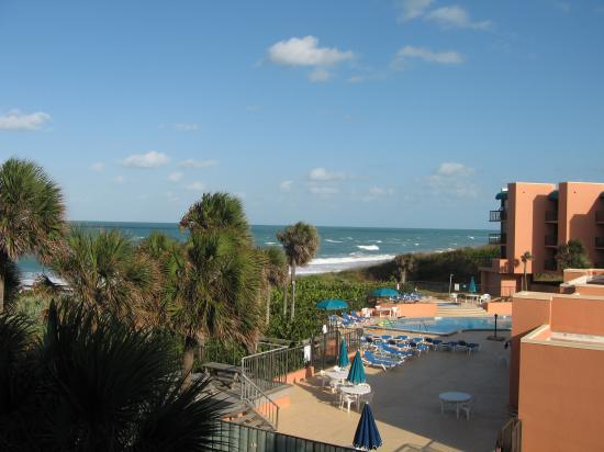 Oceanique Resort: A view from the balcony