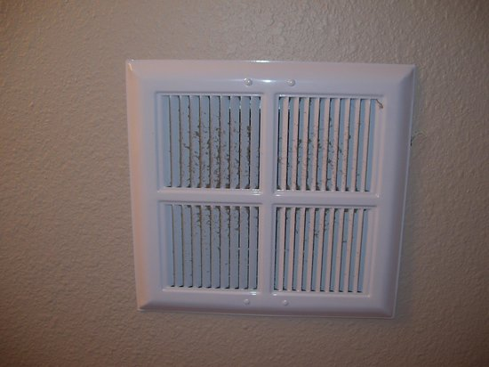 FairBridge Inn & Suites Miles City: Why are the bathroom fans never cleaned?
