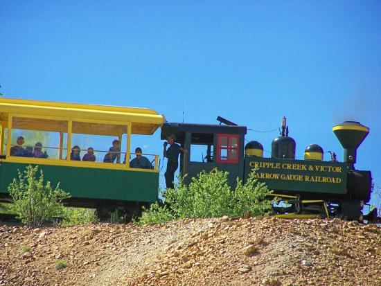 Cripple Creek & Victor Narrow Gauge Railroad: End Of The Line / Anaconda