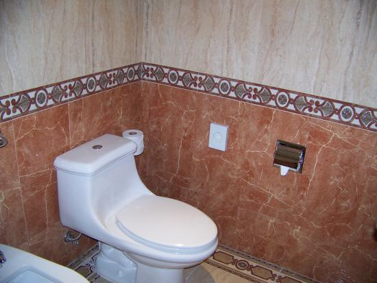 Hotel Riu Vallarta: I don't know WHY i took a picture of the toilet