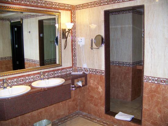 Hotel Riu Vallarta: Another shot of the suite bath