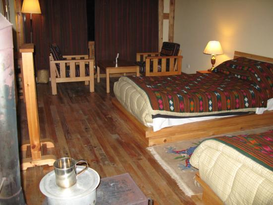 Phobjikha Valley, Bhutan: The basic but comfortable room