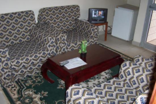 Teclaire Palace Hotel: le salon de la suite
