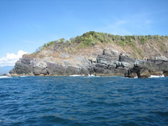 From the boat off of Isla Ixtapa
