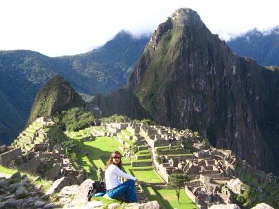 Machu Picchu, Peru: (Enter your caption here - required)