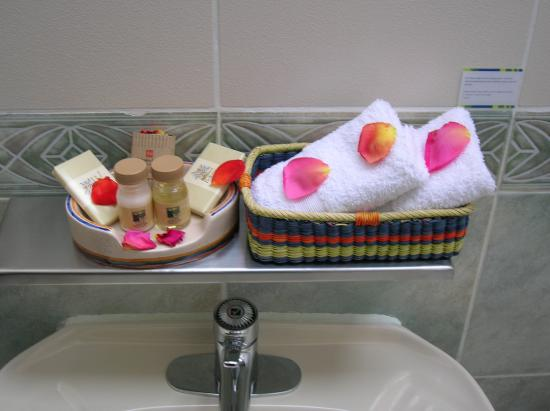 Isla Suasi Hotel: Toiletries