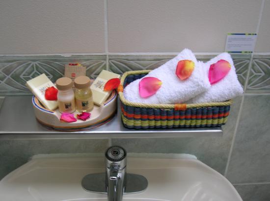 Hotel Isla Suasi: Toiletries