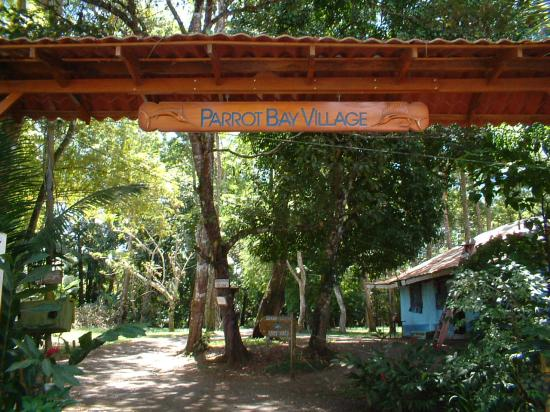 Corcovado Beach Lodge: The entrance