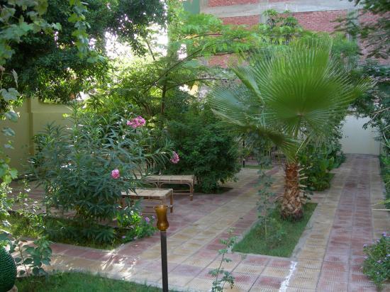 El Nakhil Hotel & Restaurant : view of garden