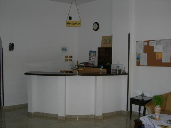 El Nakhil Hotel & Restaurant : reception area
