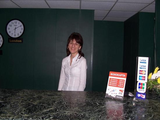Hotel Dobrudja Front Desk Manager Villiana Velikova