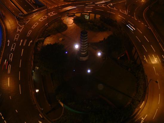 Radisson Blu Hotel, Birmingham: Holloway Circus at night
