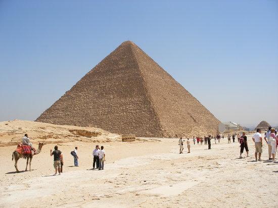 Caïro, Egypte: Cairo Pyrimids