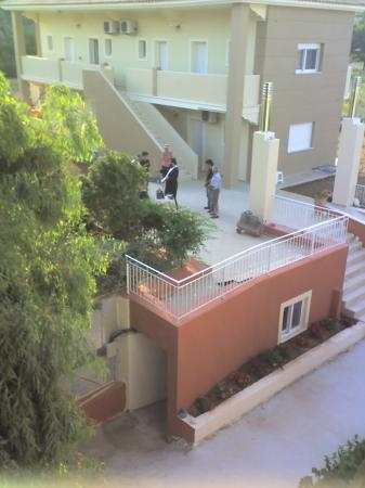 Anassa Hotel: new building being blessed by local priest