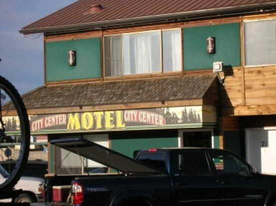 West Yellowstone's City Center Motel: Front