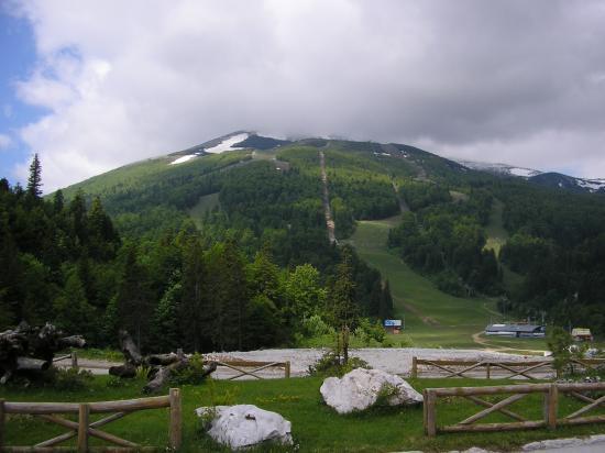Hotel Marsal : Ski-tracks