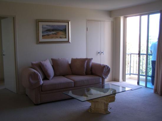 Oceana on Broadbeach: Second Living Area
