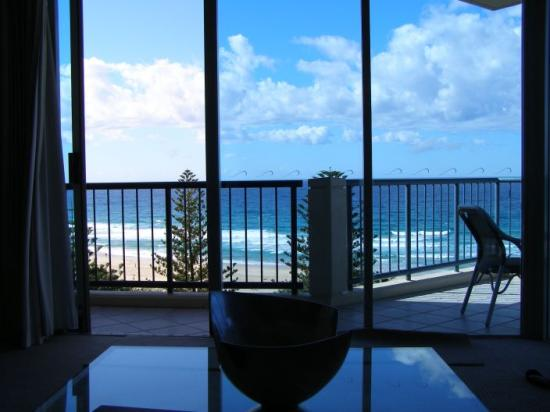 Oceana on Broadbeach: View from lounge