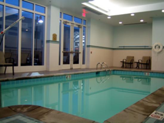 Indoor Swimming Pool Picture Of Holiday Inn Kansas City Airport Kansas City Tripadvisor