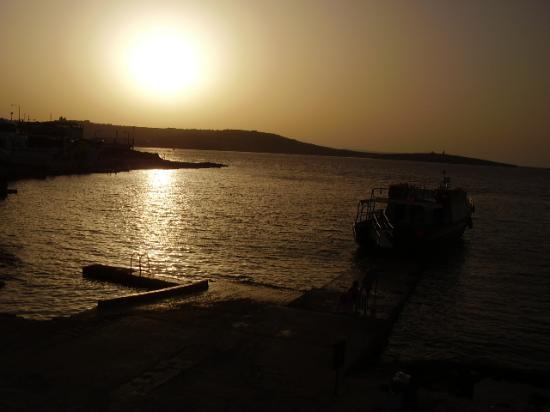 Venus Aparthotel: what a sun set