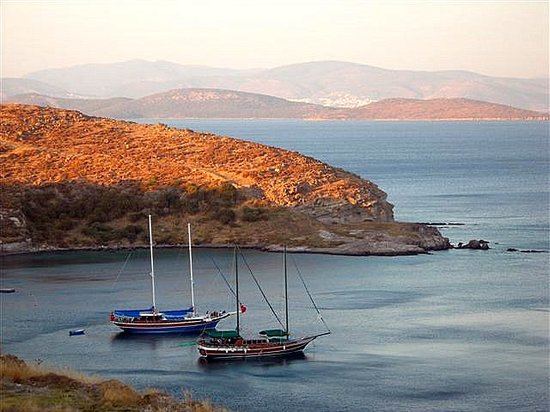 Semenanjung Bodrum, Turki: Resting in the Serene Cove