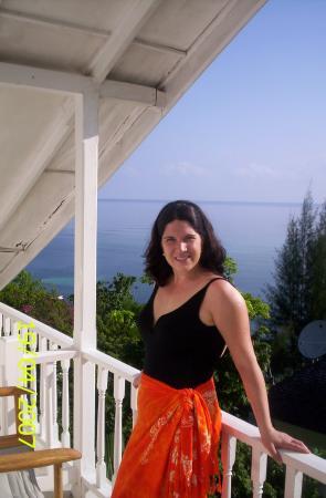 Moon San Villa: Antoinette - balcony left