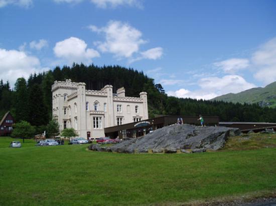 Drimsynie House Hotel Lodges