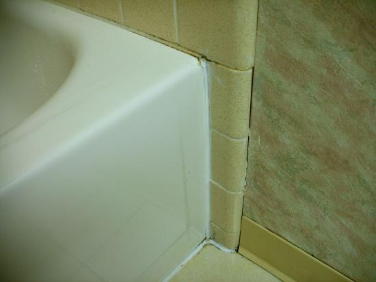 Clarion Hotel Buffalo Airport: Tub fit and finish