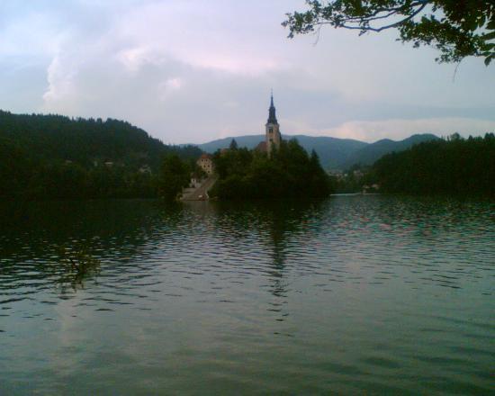 Vila Bled: Lake and Bled Island