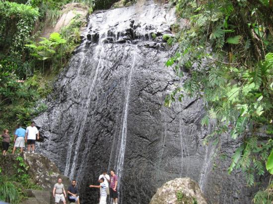 Puerto Rico: Waterfall