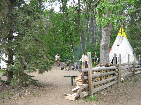 Έντμοντον, Καναδάς: Indian camp