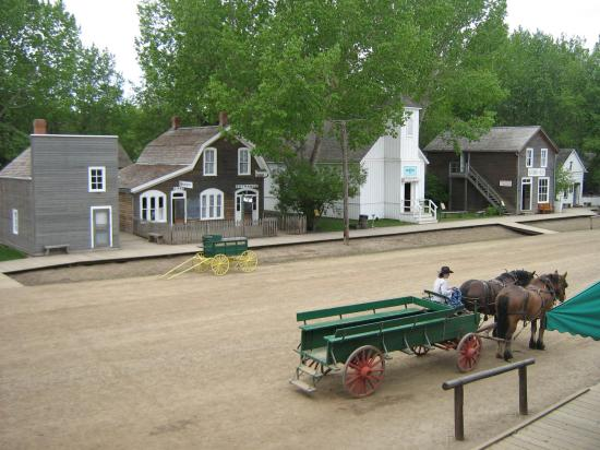 Fort Edmonton Park: Downtown from the top