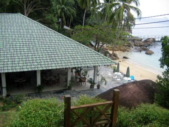 Minang Cove Resort: The Dining Room from our Room