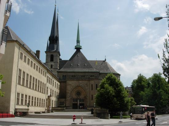 Le Royal Hotels & Resorts - Luxembourg : Cathedral of Our Lady