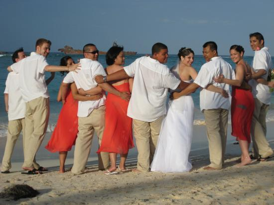 Grand Bahia Principe Bavaro: wedding pic