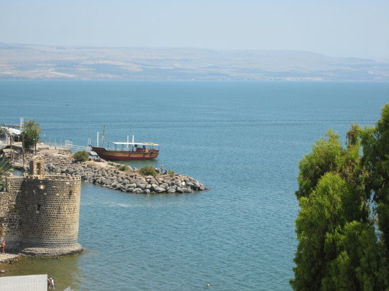 Tiberias, İsrail: Sea of Galilee
