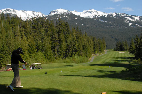 Fairmont Chateau Whistler Golf Club: Wow Too!