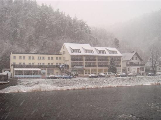 Ziegenrück, Almanya: Hotel am Schlossberg