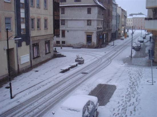 Meiningen, Niemcy: View from hotel window