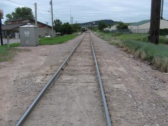 Days Inn Sturgis: Railroad track adjacent